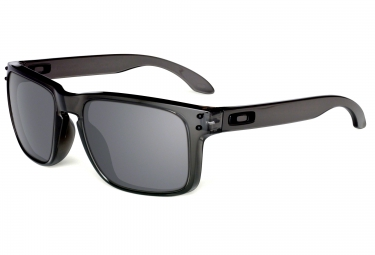 oakley lunettes holbrook grey noir iridium ref oo9102 24
