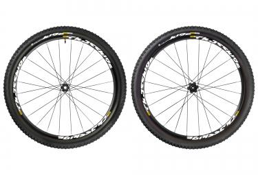 mavic paire de roues crossride ust 26 wts 6tr axe 15x100 av 12x142mm 12x135mm ar cor