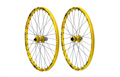 mavic paire de roues deemax ultimate 26 av 20 mm ar 12 x 150 mm corps shimano