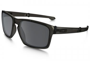 oakley lunettes sliver fordable gris noir iridium oo9246 02