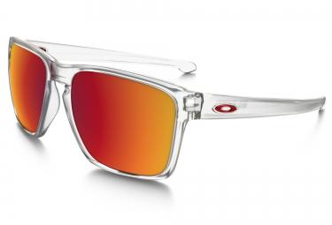oakley lunettes sliver xl matte clear torch iridium ref oo9341 09