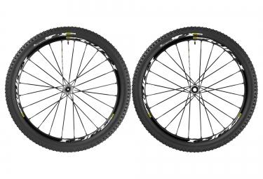 mavic paires de roues crossmax xl pro wts 27 5 av 15 mm ar 12x142 mm corps shimano p