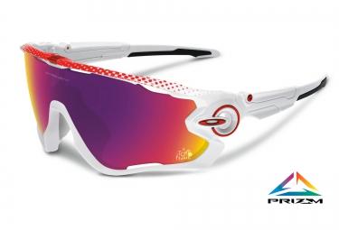 oakley lunettes jawbreaker prizm road tour de france blanc prizm road ref  oo9290 18 d54bfe6eeac7