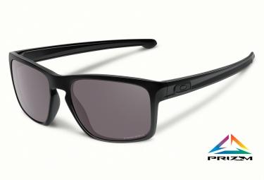 oakley lunettes sliver noir noir prizm daily polarise ref oo9262 07