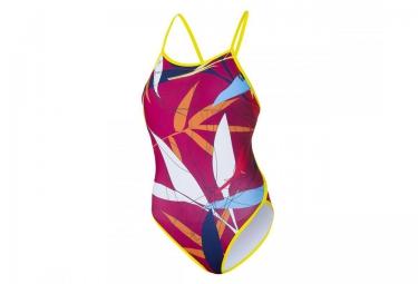 z3r0d maillot de bain 1 piece graphic rouge femme