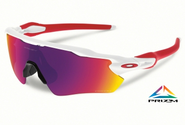 oakley lunettes prizm road radar ev path white prizm road ref oo9208 05