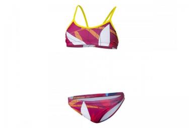 z3r0d maillot de bain 2 pieces graphic rouge femme
