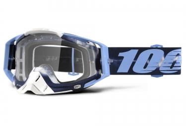 100 masque racecraft tie dye bleu ecran transparent
