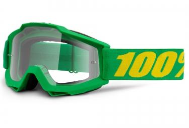 100 masque accuri forrest vert ecran transparent