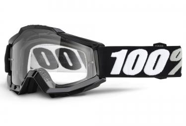 100 masque accuri tornado otg porteur de lunettes noir ecran transparent