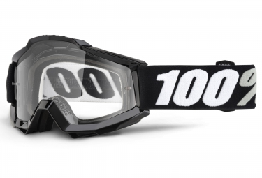 100 masque accuri tornado noir ecran transparent