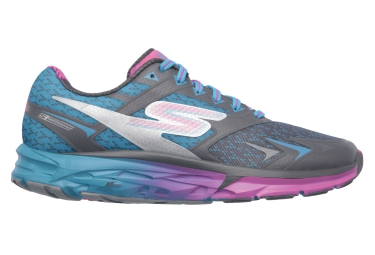 SKECHERS Running Shoes GO RUN FORZA Blue Grey Purple Women