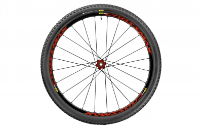 mavic roue arriere crossmax elite 29 12x142mm corps shimano sram pneu pulse pro 2 25
