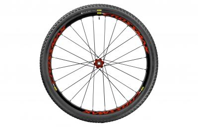 mavic roue arriere crossmax elite 29 12x142mm corps shimano sram pneu pulse pro 2 10