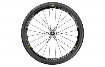 mavic roue avant crossmax elite 27 5 lefty supermax pneu pulse pro 2 25 noir