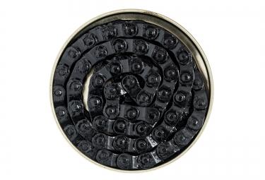 gusset chaine demi maillon montage 1 8 noir single speed