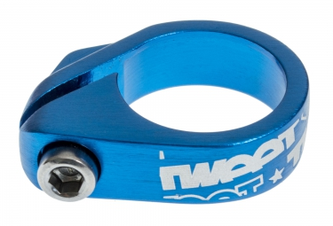 spank collier de selle ecrou tweet tweet 29 8 mm blue