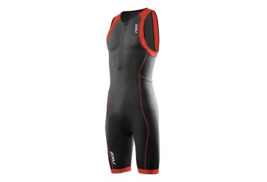 2xu combinaison tri fonction de compression g 2 active trisuit noir rouge