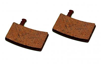 ashima paire de plaquettes organiques pour freins hayes strocker trail carbon