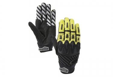 oakley gants overload noir jaune