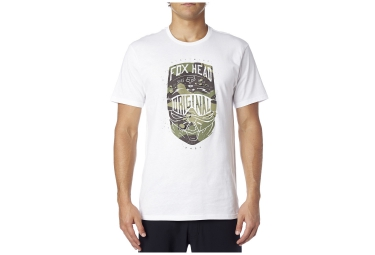 fox t shirt transparent blanc