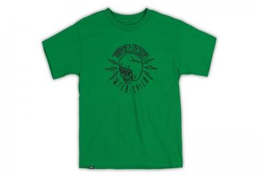 troy lee designs t shirt enfant wild kelly vert m