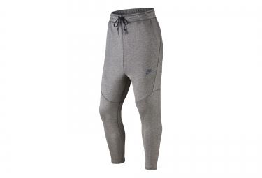 nike pantalon tech fleece cropped gris homme
