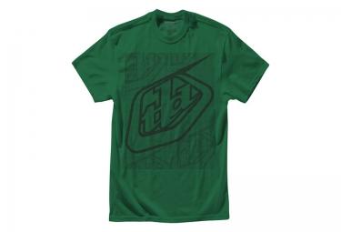 troy lee designs t shirt enfant highside htr kelly vert