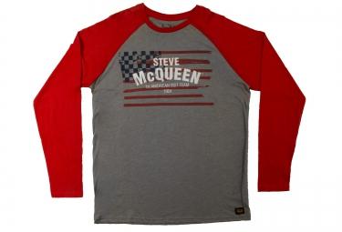 troy lee designs t shirt americana rouge l