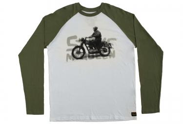 troy lee designs t shirt circa 64 blanc vert l
