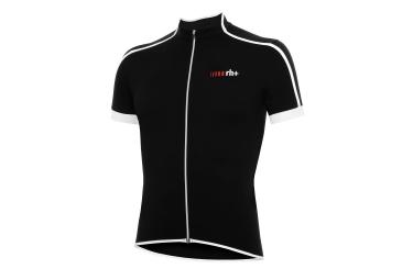zero rh maillot manches courtes prime noir blanc