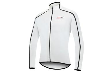 zero rh maillot manches longues prime blanc noir