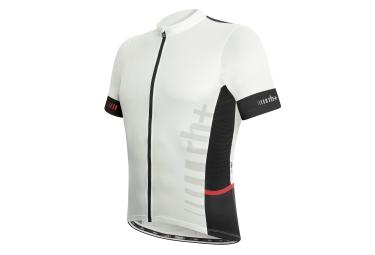 zero rh maillot manches courtes logo evo noir blanc