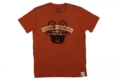 troy lee designs t shirt metisse premium rouge
