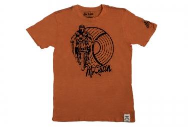 troy lee designs t shirt mojave premium orange