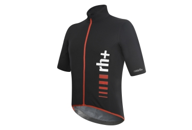 zero rh maillot manches courtes speed rain shell noir rouge
