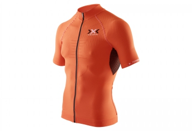 x bionic maillot the trick bike orange
