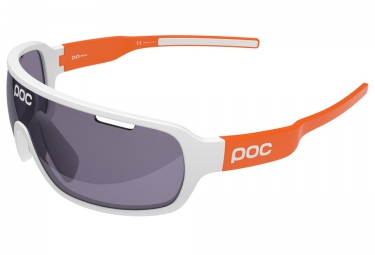 poc lunettes do blade avip blanc orange violet