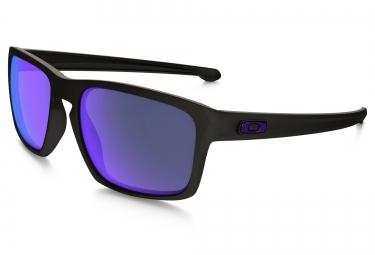 oakley lunettes sliver noir violet polarise ref oo9262 10