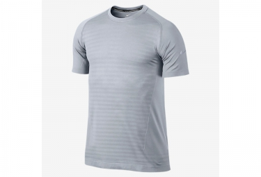 nike maillot dri fit knit novelty gris homme