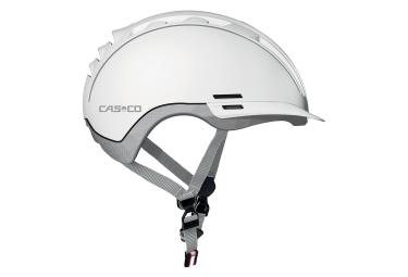 casque casco roadster tc blanc argent