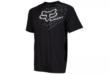 fox tee shirt manches courtes dirt giant noir