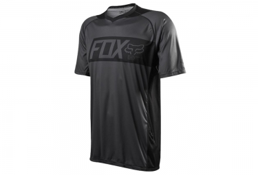 fox maillot attack manches courtes noir