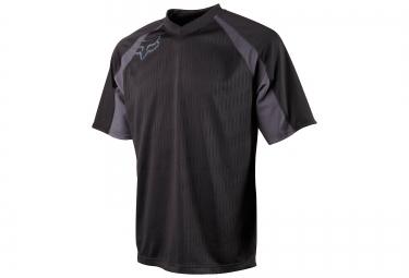 fox maillot flow jersey noir
