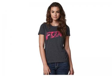 fox tee shirt manches courtes bonnie heather noir femme