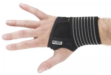 fuse protege poignet alpha taille unique noir