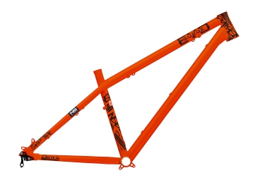 ns bikes cadre rigide surge evo 26 27 5 orange