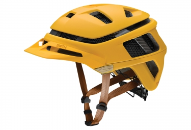 smith casque forefront jaune mat