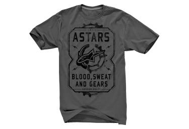 alpinestars t shirt grind gris