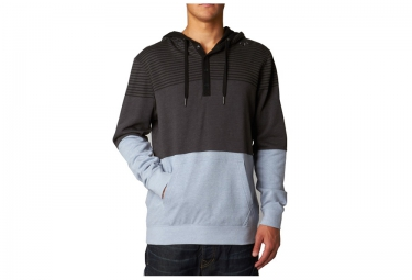 fox sweat a capuche tucker gris bleu